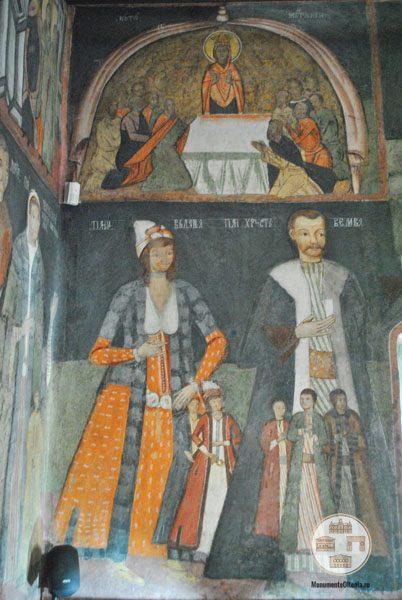 Biserica Sf Nicolae Amaradia Belivaca, Craiova - familia ctitorului Hristea Belivaca
