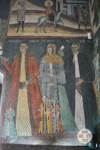 Biserica Sf Nicolae Amaradia Belivaca, Craiova - familia ctitorului Mihail Socolescu