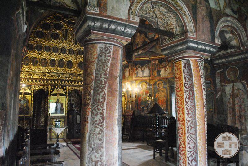 Biserica Sf Nicolae Amaradia Belivaca, Craiova - interior biserica
