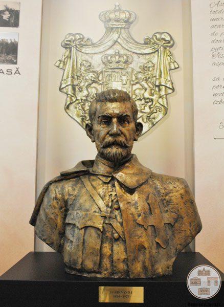 Bustul Regelui Ferdinand - Muzeul Olteniei Craiova