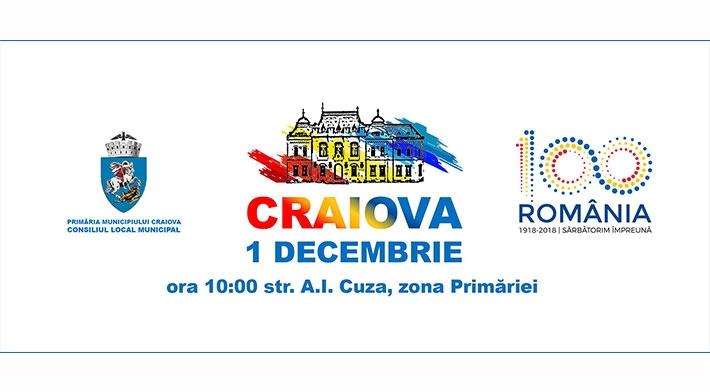 Manifestari 1 Decembrie 2018 Craiova