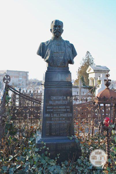 Monument funerar Constantin Valimarescu - Cimitirul Sineasca din Craiova