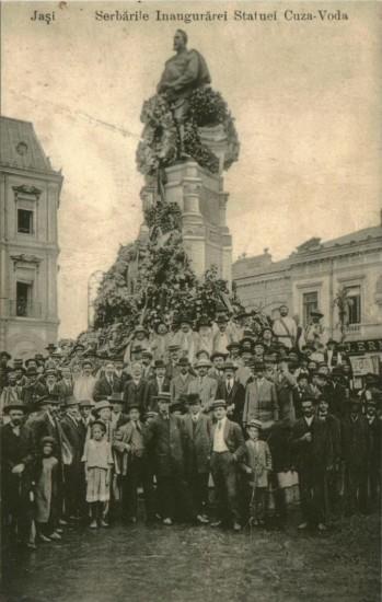 Inaugurare statuie Alexandru Ioan Cuza la Iasi