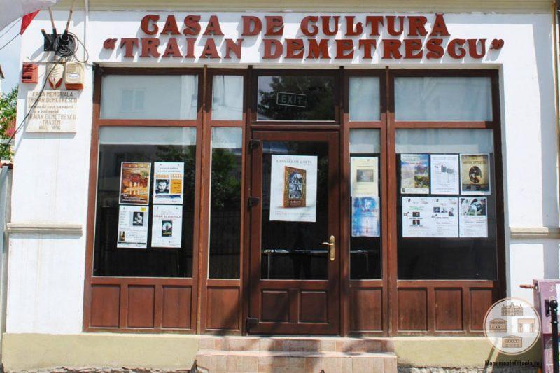 Intrare in casa poetului Traian Demetrescu, Craiova