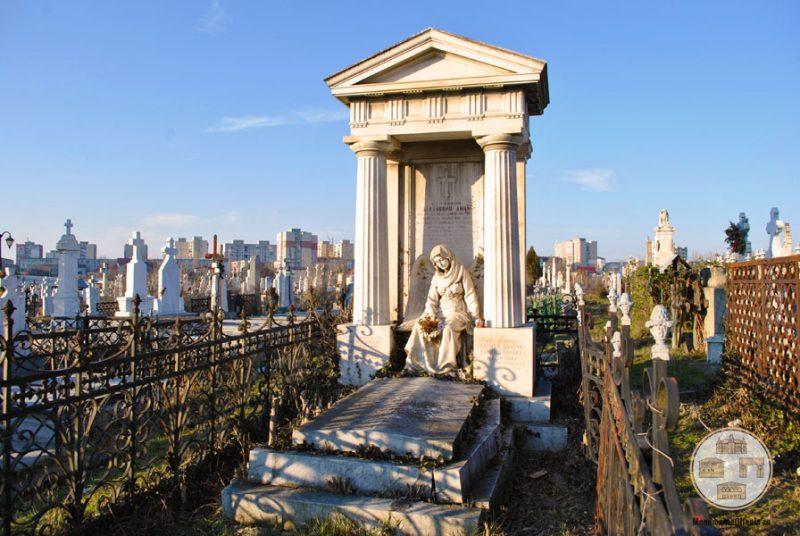 Monumentul funerar al familiei Aman din Cimitirul Sineasca, Craiova