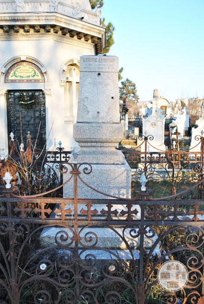 Monumentul funerar al lui Leonte Leontian - Cimitirul Sineasca, Craiova