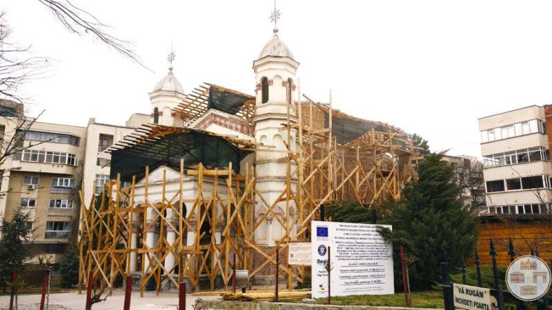 Restaurare Biserica Toti Sfintii Hagi Enus Craiova