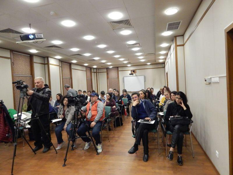 Participanti la conferinta de lansare a proiectului Noi destinatii in turismul transfrontalier