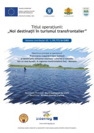 Proiect Noi destinatii in turismul transfrontalier