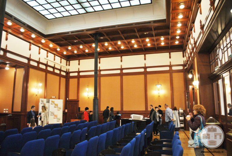 Ziua portilor deschise la BNR filiala Dolj - sala multimedia